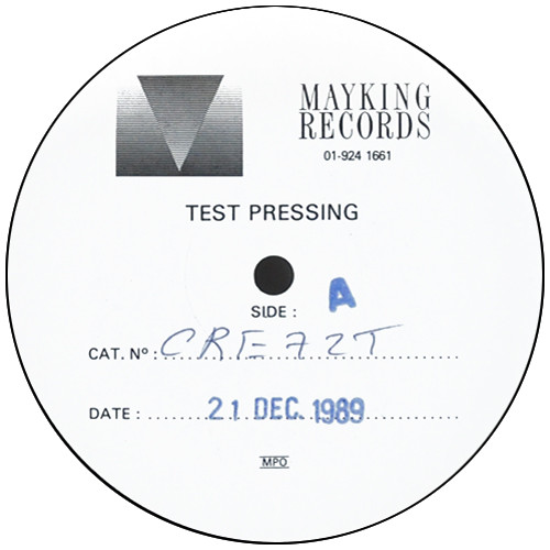 21st December test pressing