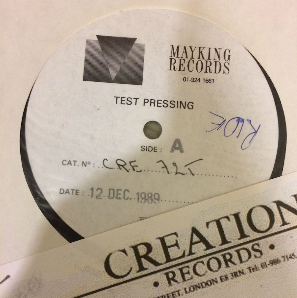 12th December test pressing