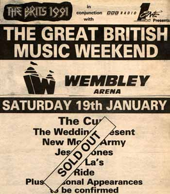 Great British Music Weekend 1991