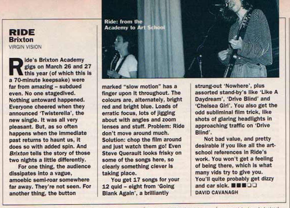 Select Magazine review