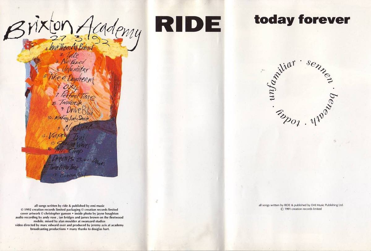 Brixton/Today Forever inner cover
