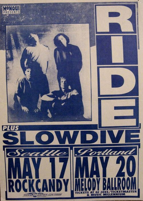 Seattle and Portland 1992 poster
