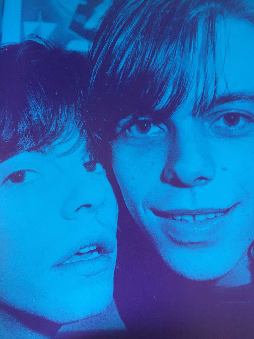 Tim Burgess and Mark Gardener