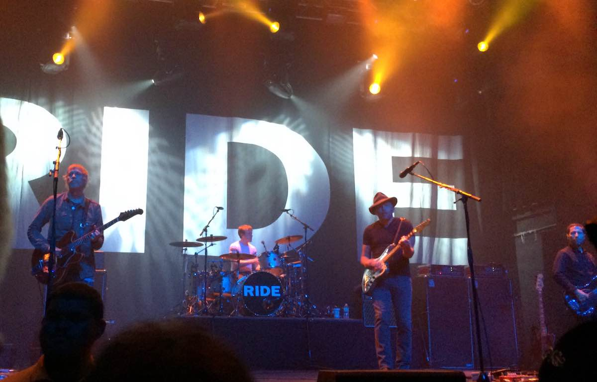 Ride on stage at Terminal 5