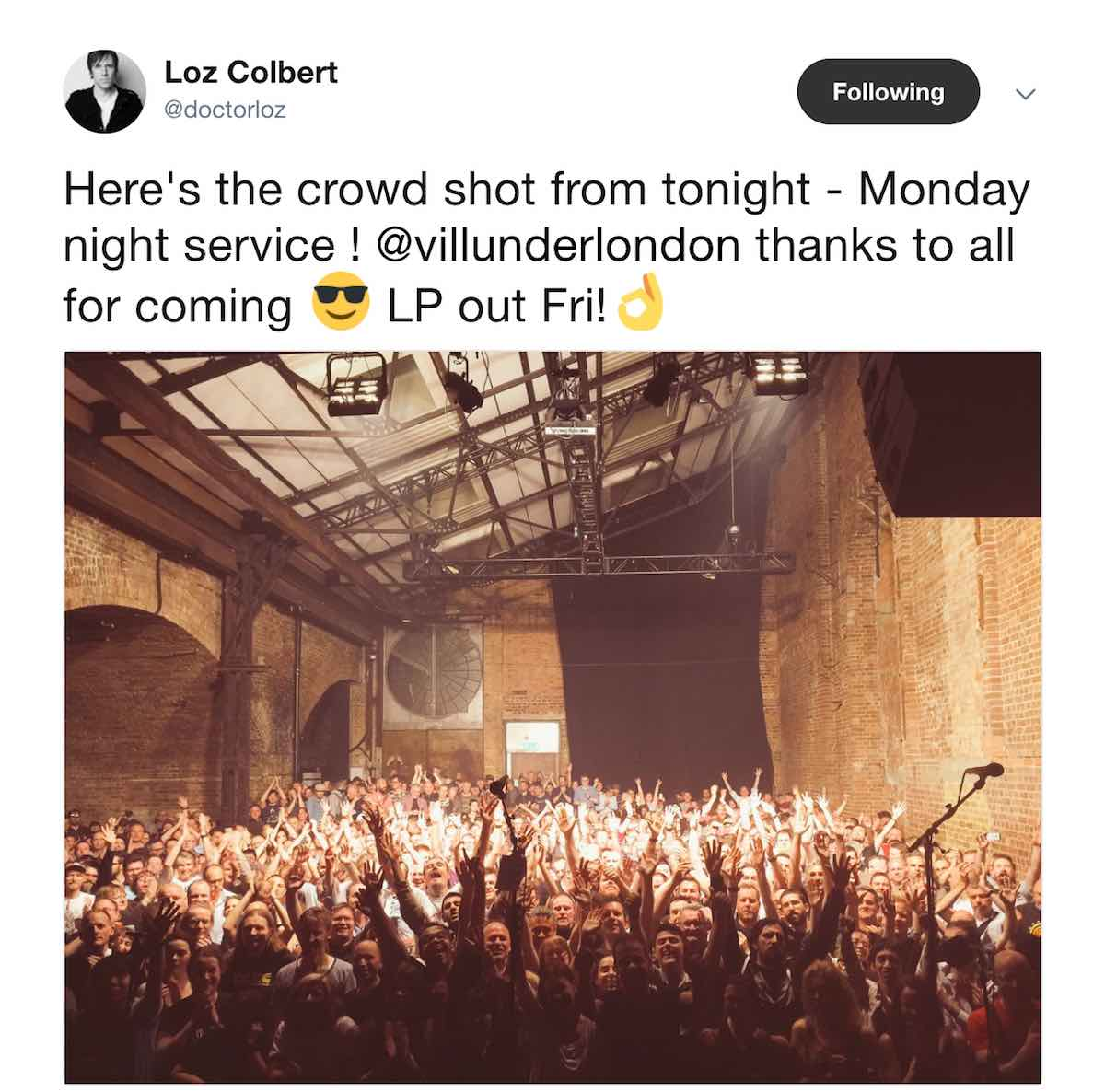 Village Underground crowd