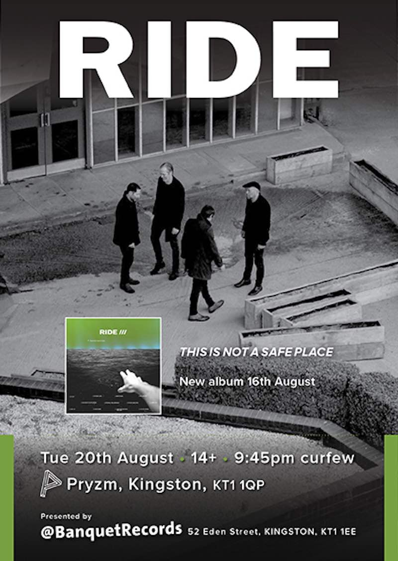 Poster for the gig