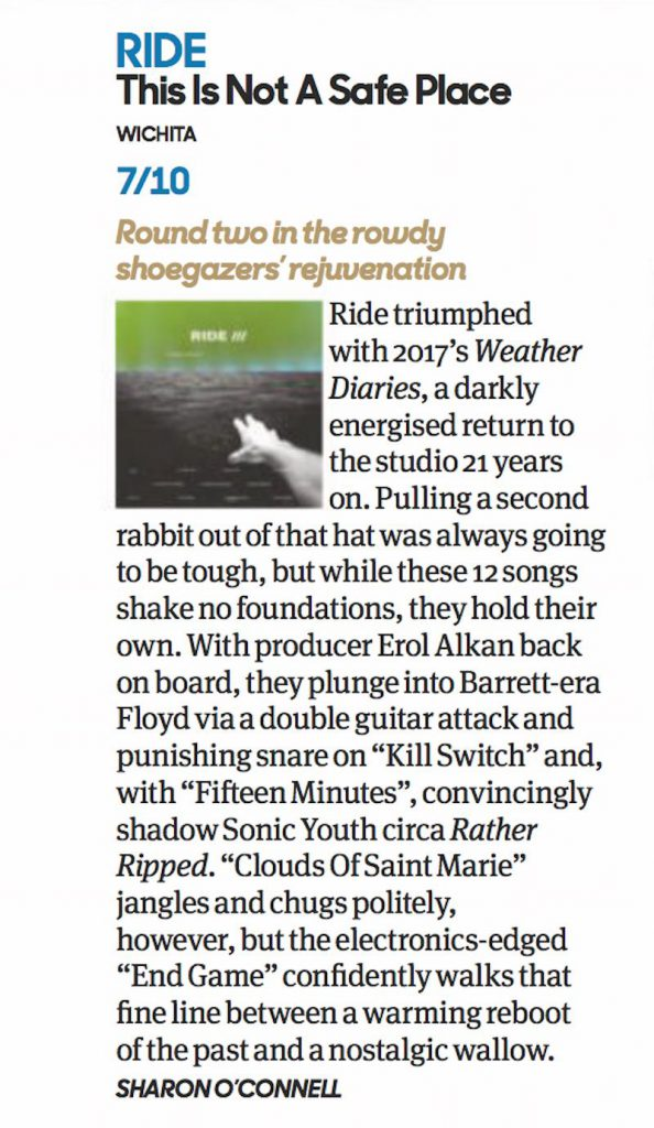 Review from Uncu magazine