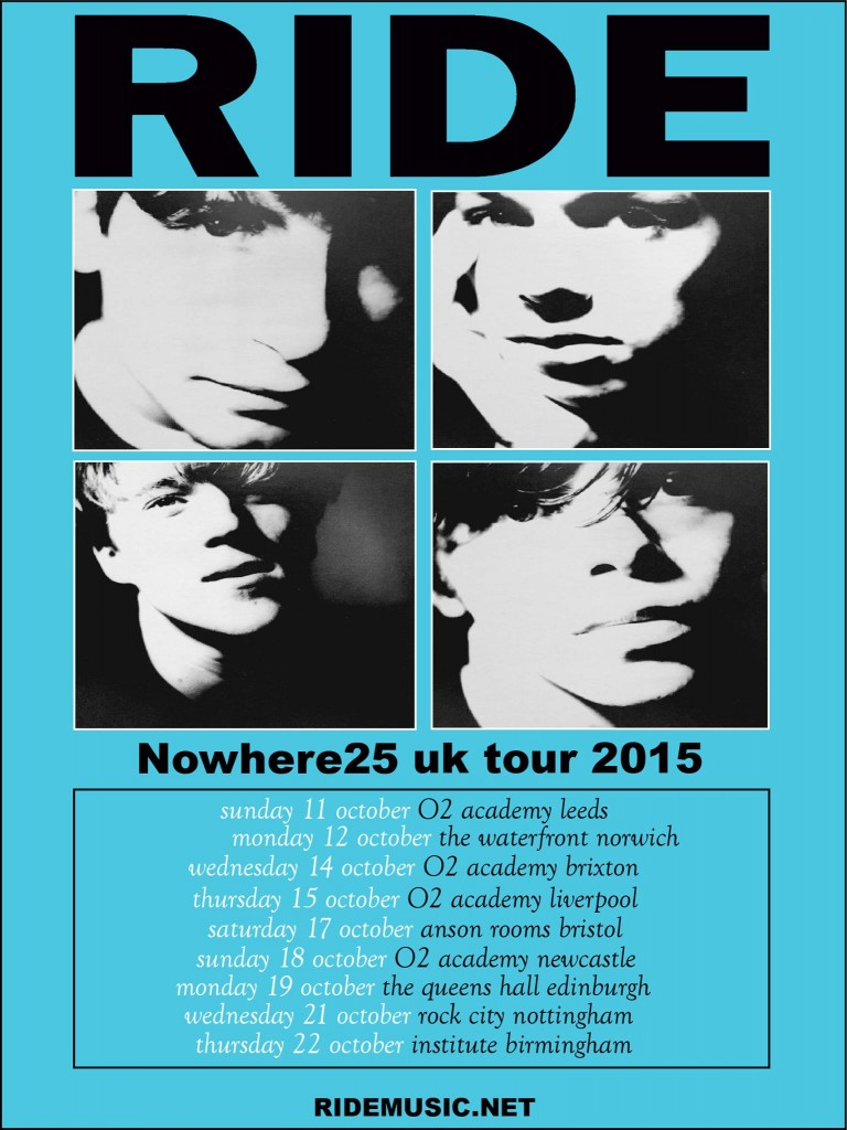 Ride Nowhere 25 tour poster