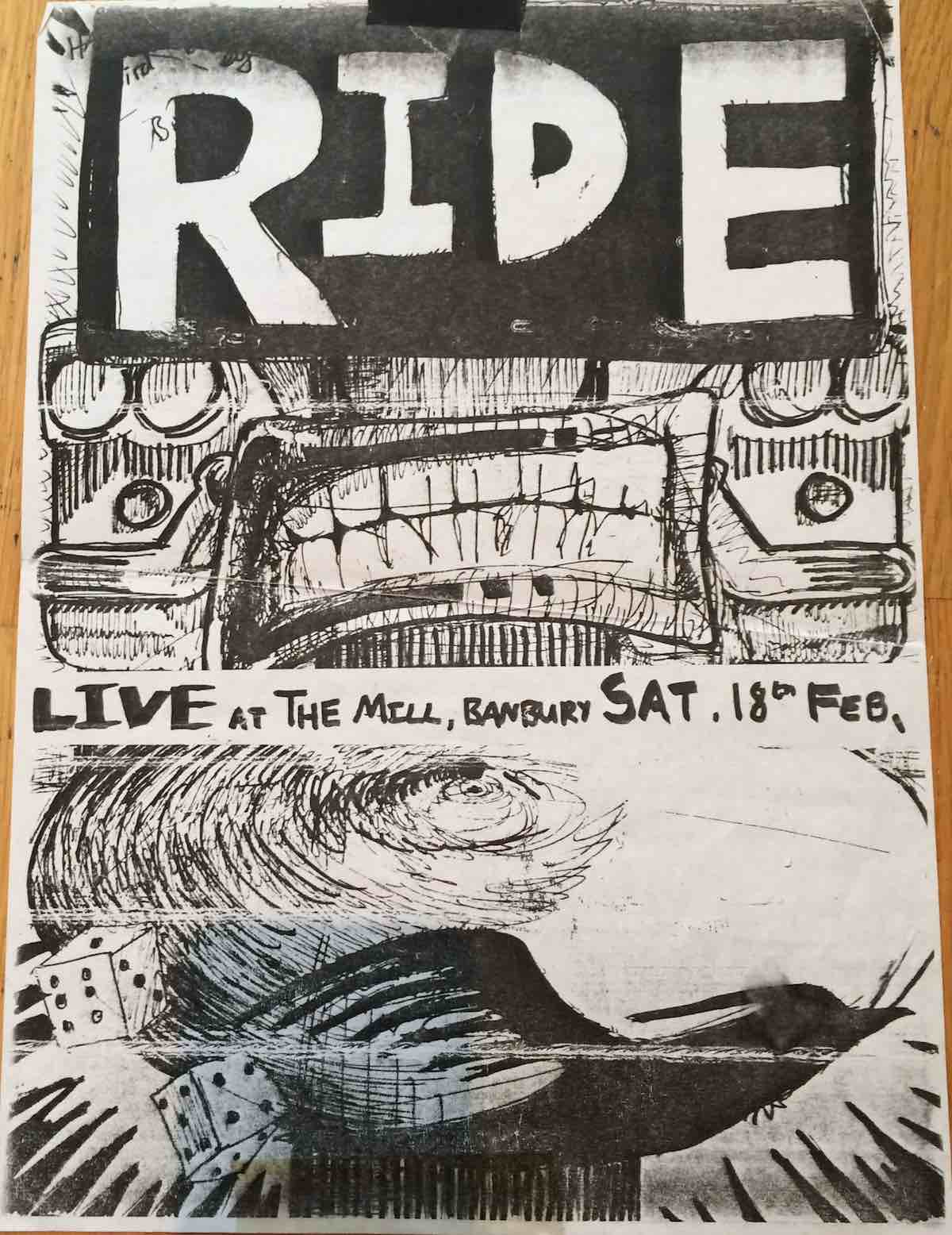 Banbury Mill poster February 1989