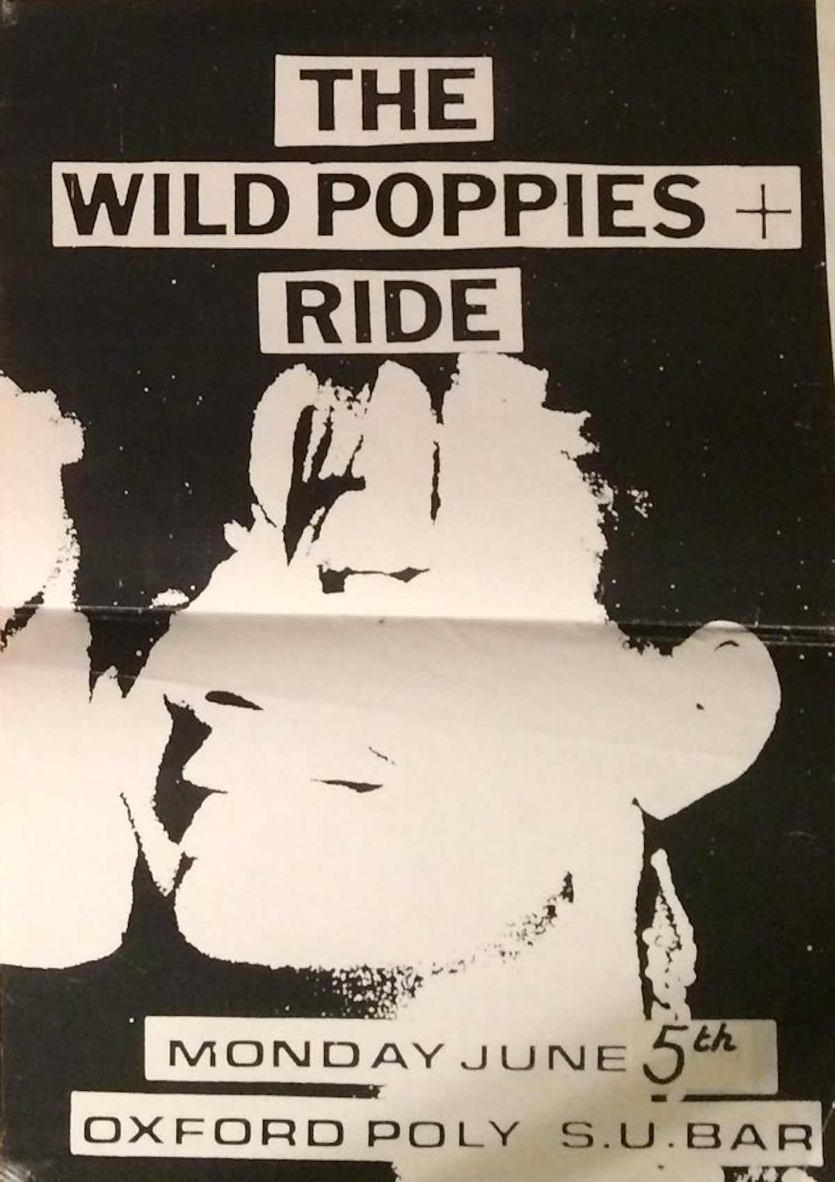 Oxford Poly June 1989 poster