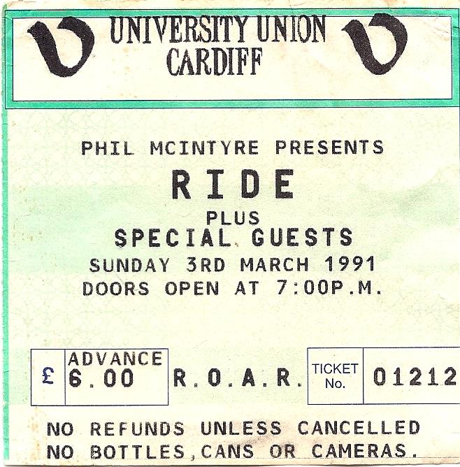 Cardiff Uni 1991