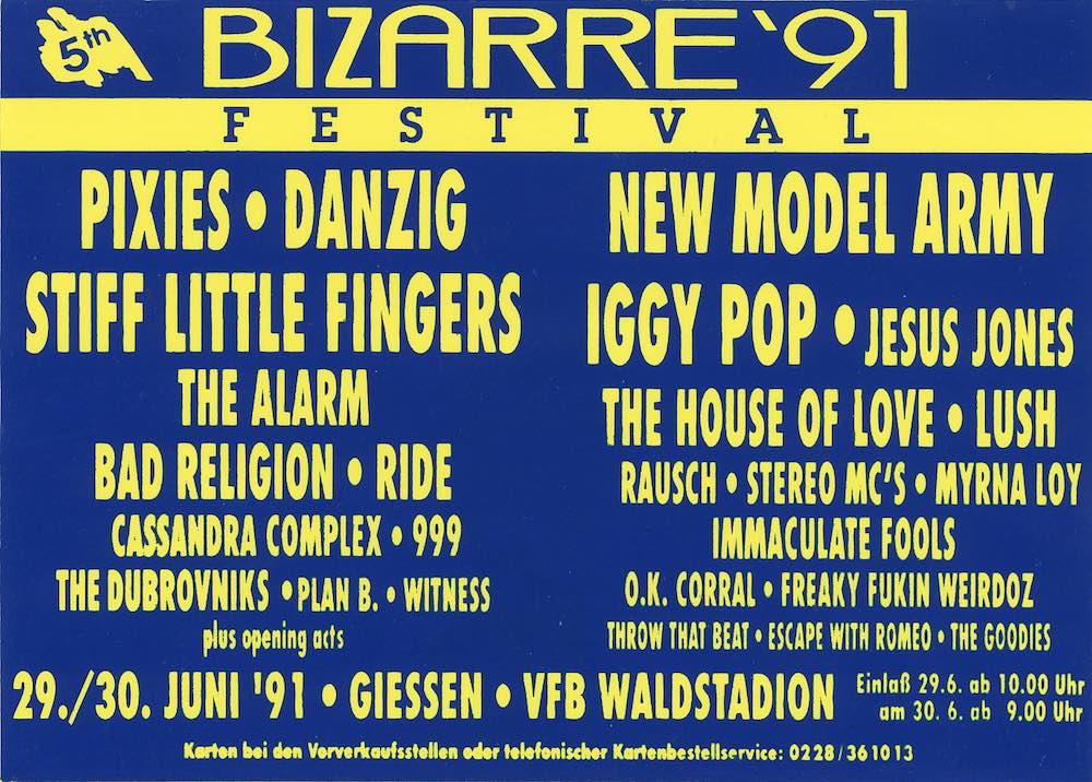 Bizarre Festival 1991