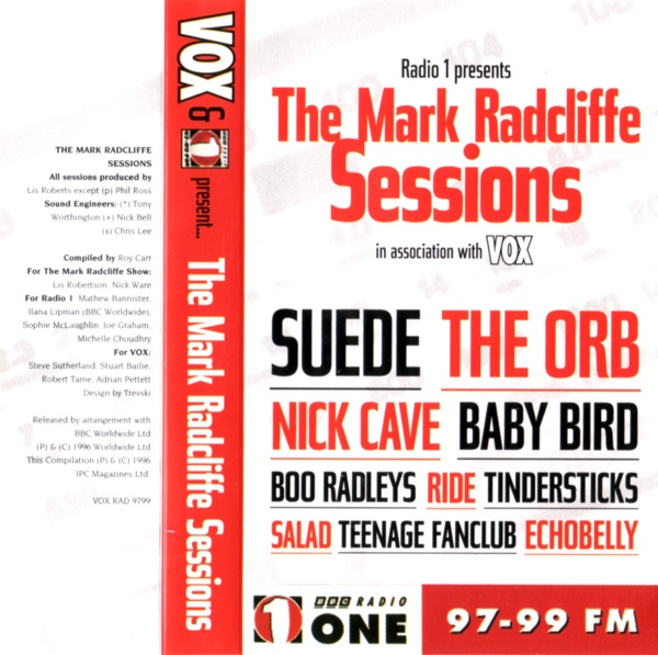 Mark Radcliffe Sessions