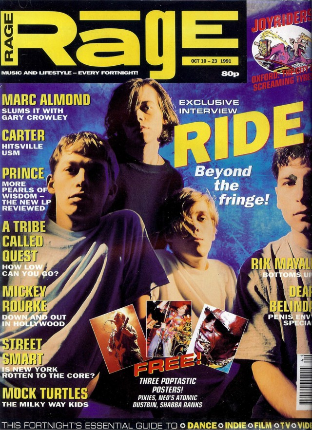 Rage magazine cover