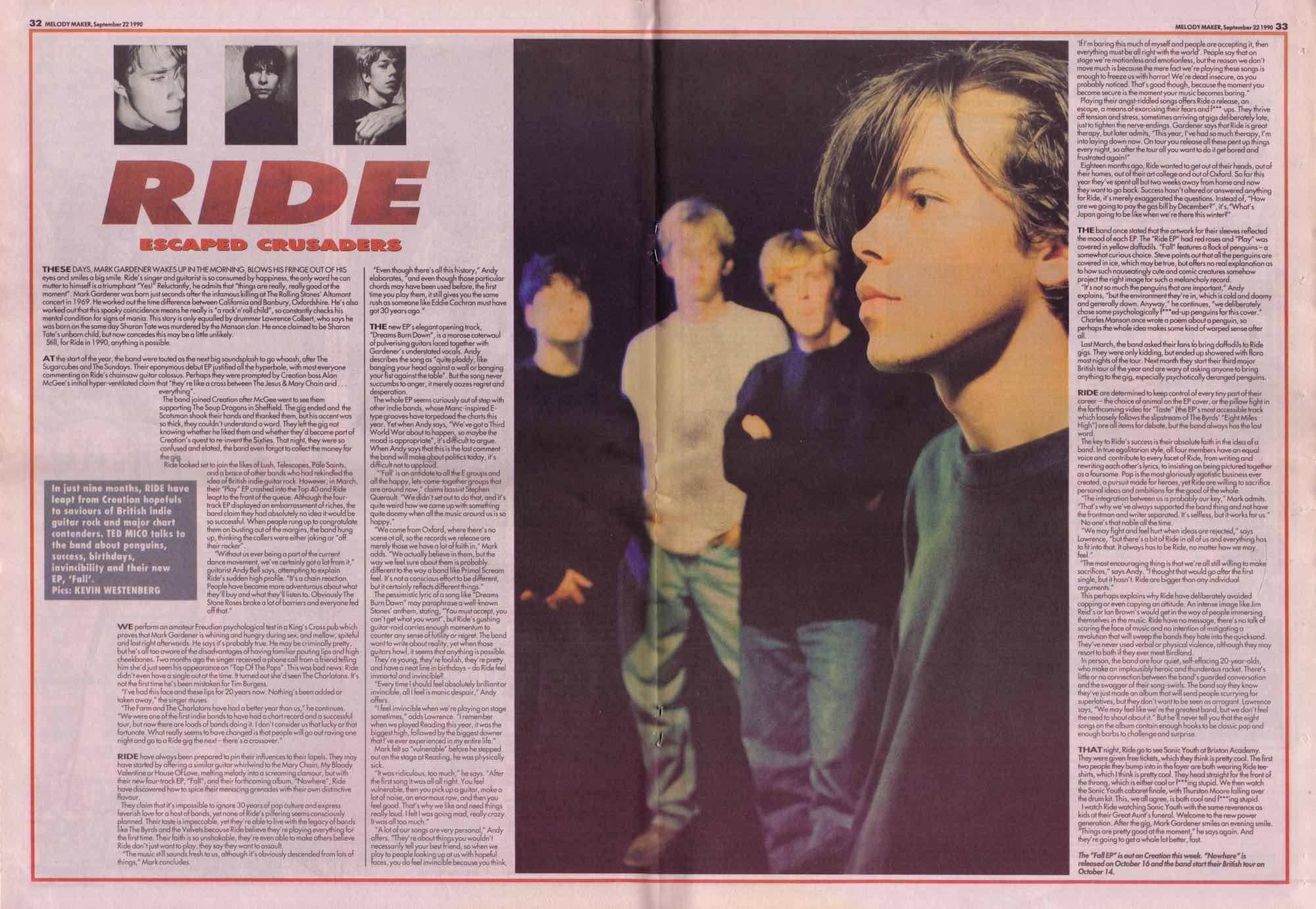 Melody Maker Set 22nd 1990