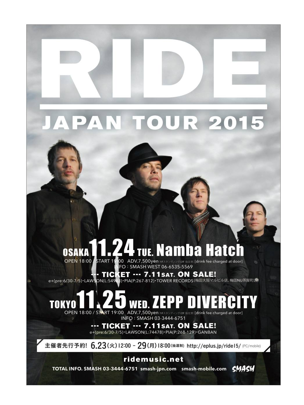 Japan tour poster