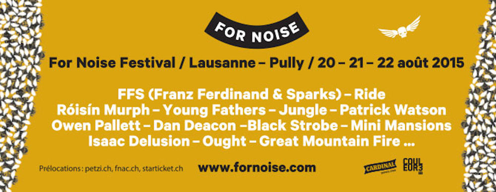 For Noise 2015