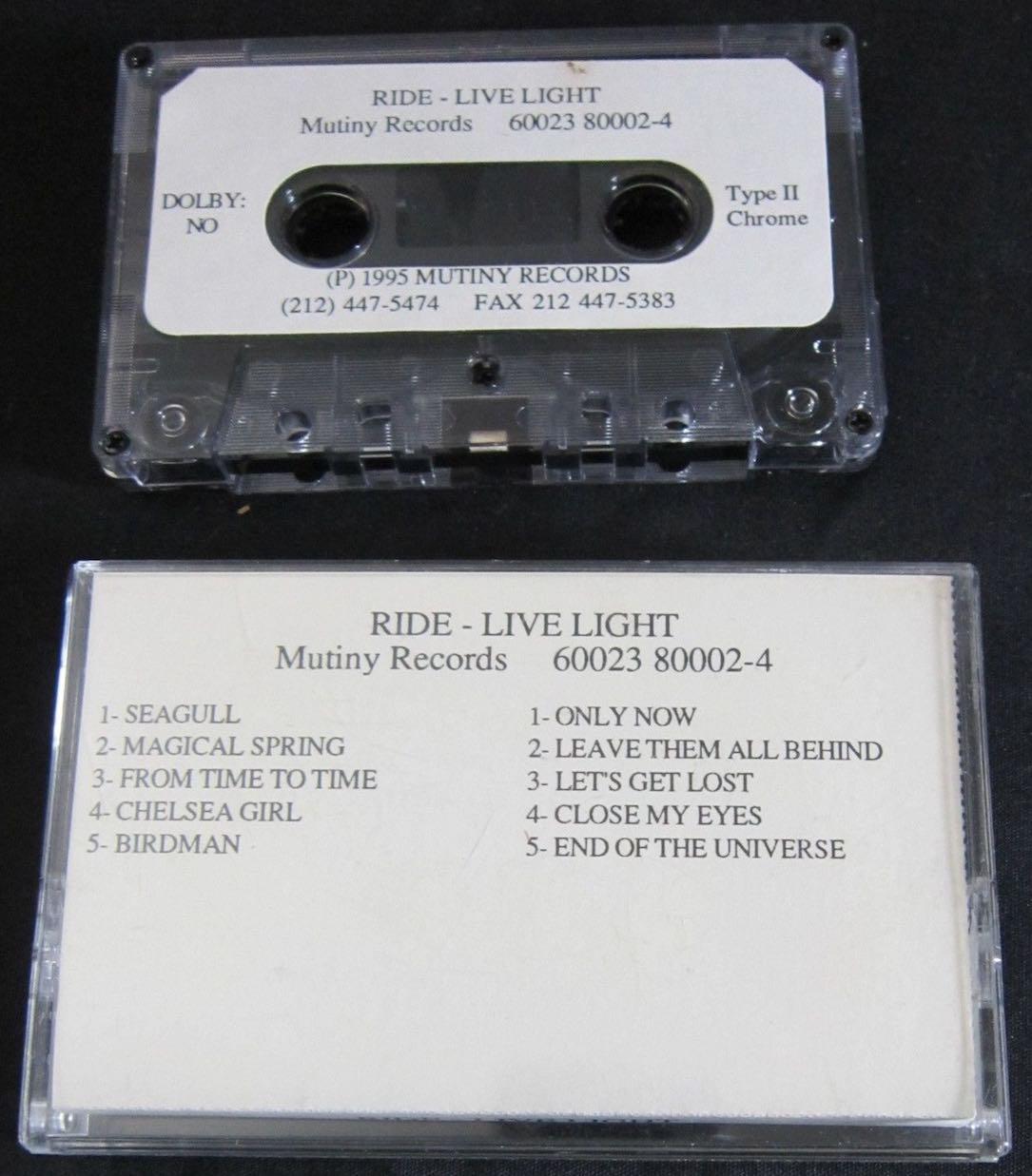 Live Light promo cassette