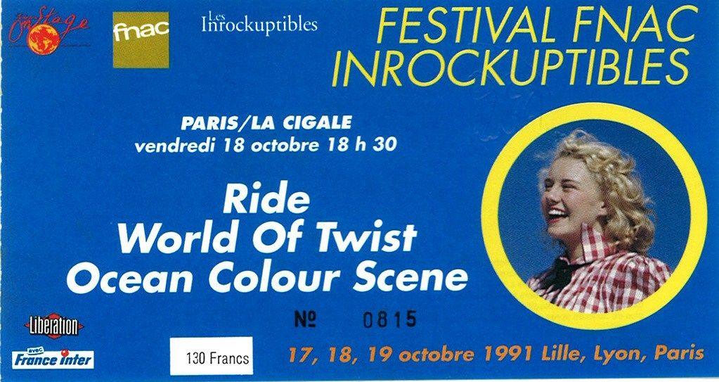 Paris ticket