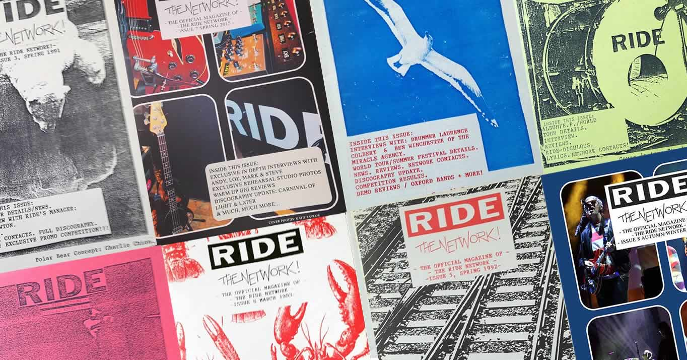Ride - The Network fanzines