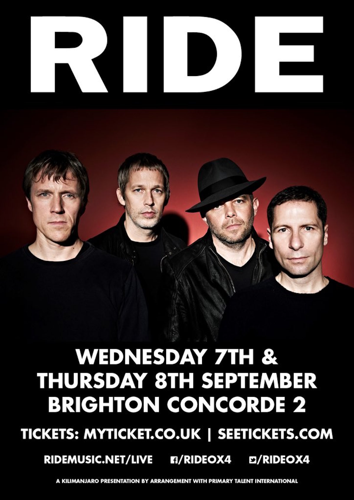 Brighton 2016 poster