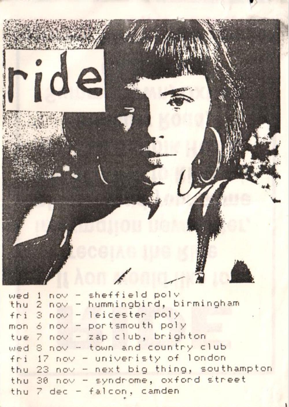 1989 tour poster