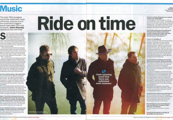 Time Out May 2015