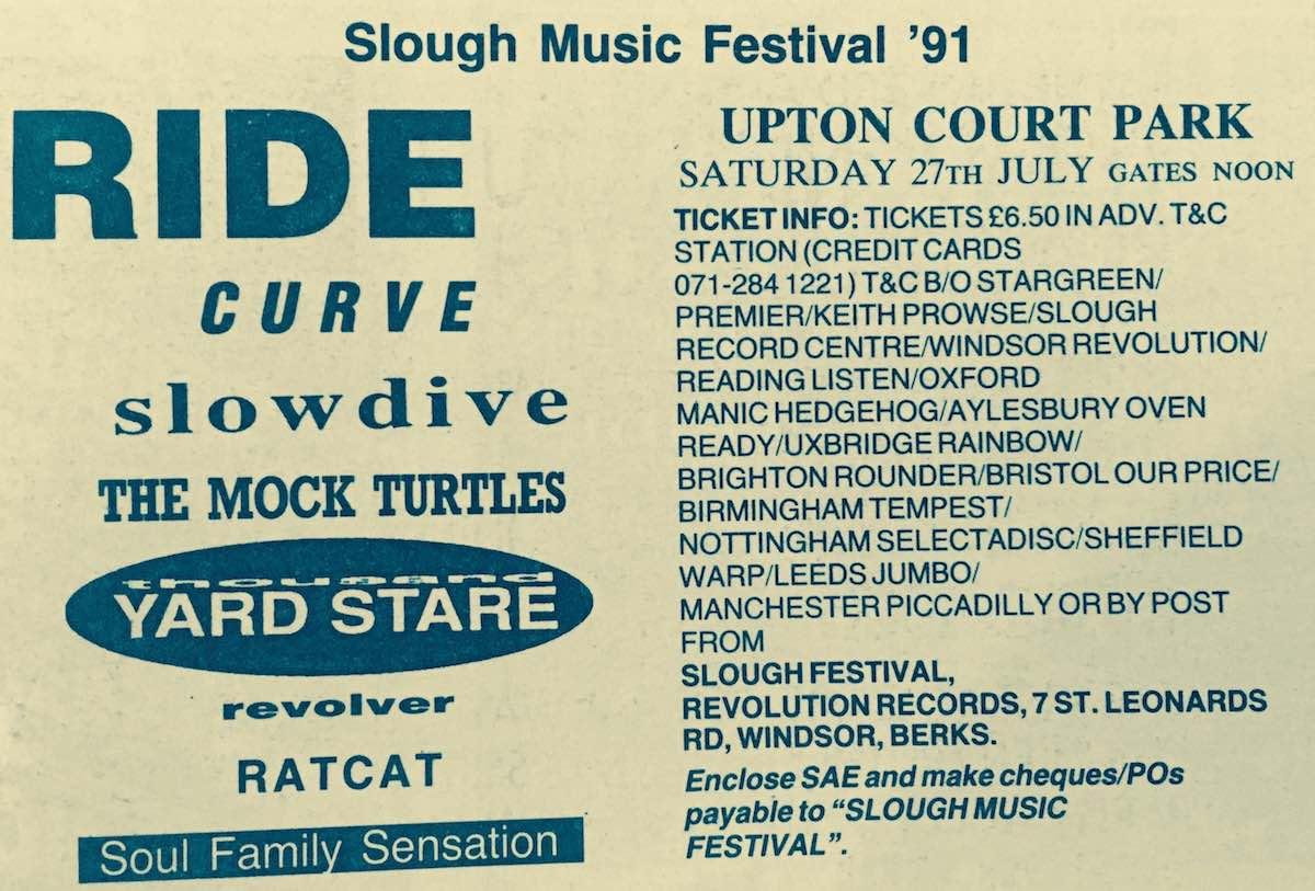 Slough Festival 1991
