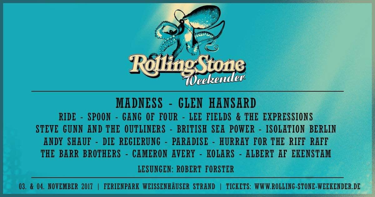 Rolling Stone Weekender banner