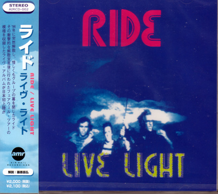 Ride - Live Light Japanese edition