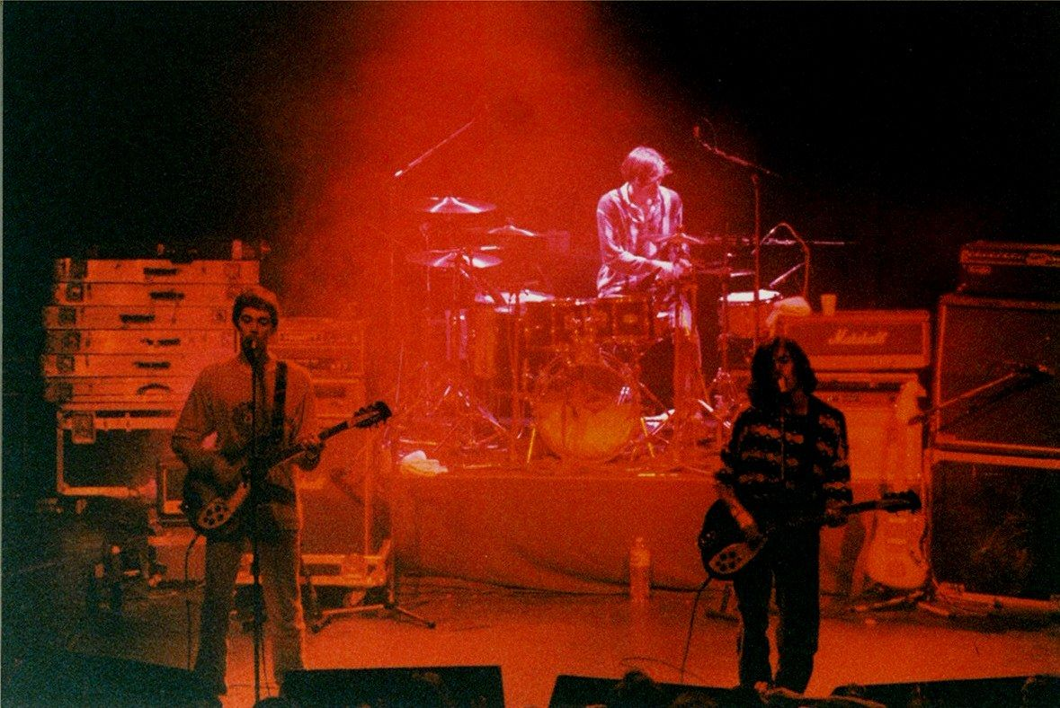 Ride on stage in Paris